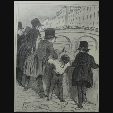 Honoré Daumier - France (1808- 1879 )