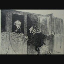 Honoré Daumier - France (1808- 1879 )
