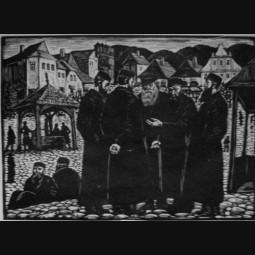 Władysław Skoczylas - Żydzi
